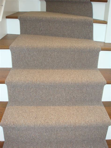 carpet runners for curved stairs with simple brown carpet runners for stairs ideas popular home