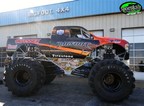 Bigfoot 20 187 International Monster Truck Museum Hall Of Fame