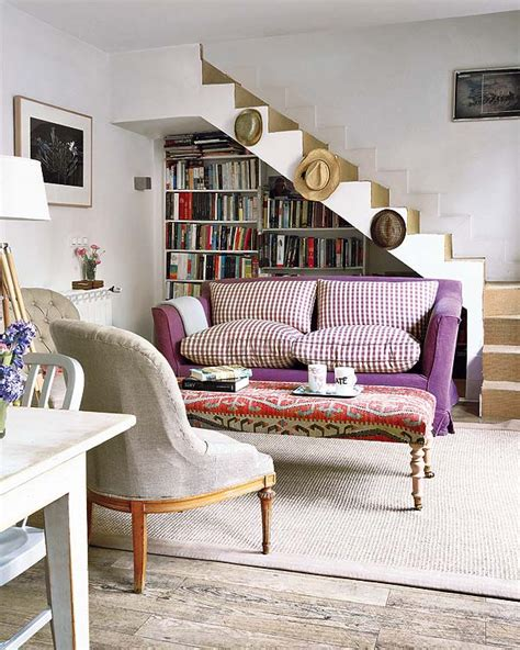 sofa under stairs 10 charming living room design ideas decoholic