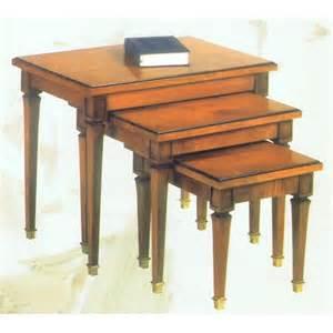 table de salon gigogne table salon gigogne sur