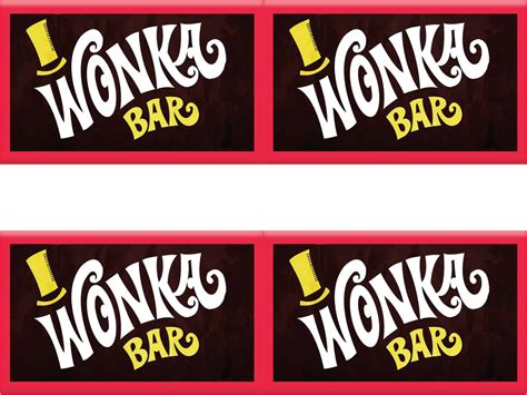 willy wonka bar wrapper template wonka bar template go search for tips tricks
