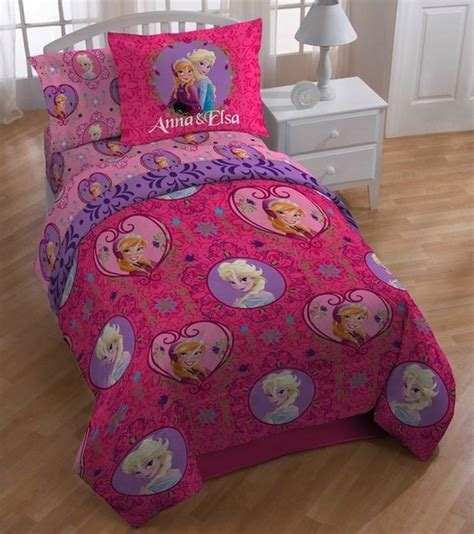 frozen bed in a bag disney frozen friendship twin 4 piece bed in a bag set