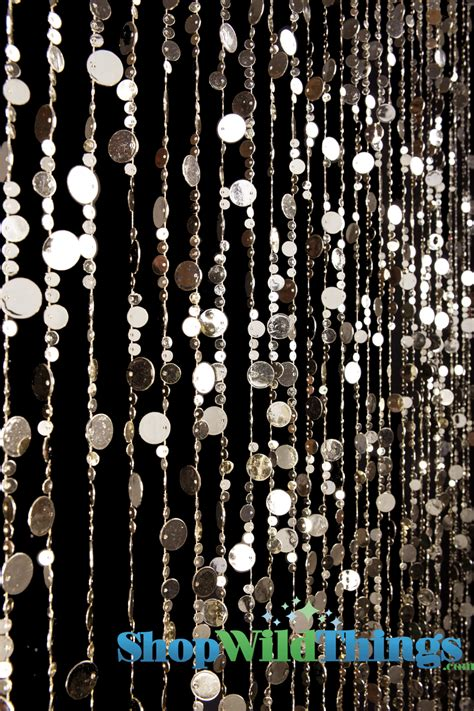 gold beaded curtain light gold backdrop beaded curtain light gold circles