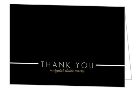 Graduation Thank You Card Templates Microsoft by Black Multi Photo Graduation Thank You Card Template