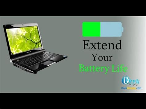 how to extend your laptop battery life youtube how to increase your laptop s battery life youtube
