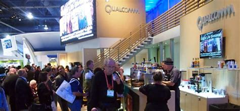 Best Trade Show Giveaways 2015 - qualcomm coffee line at ces customonit com