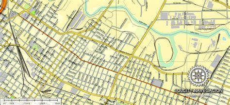 usa houston map houston printable vector map editable illustrator
