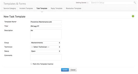 service desk templates custom forms help desk manageengine servicedesk plus on
