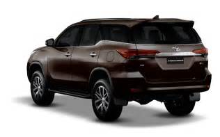 fortuner car new model price new 2016 toyota fortuner india gt gt price specification