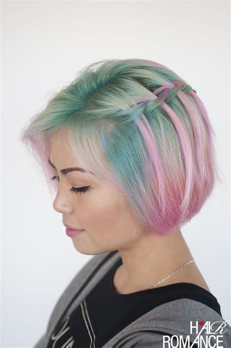 dads can do hair too tips for quick and easy hairstyles waterfall braid in short hair hair romance