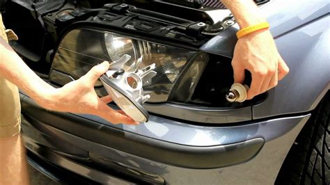 bmw parking l bulb replacement bmw e46 clear parking lenses install tutorial youtube