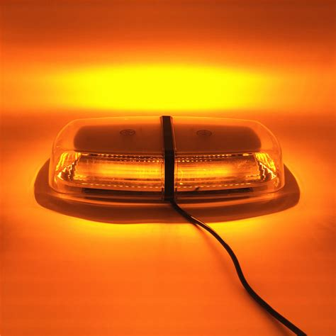 amber vehicle warning lights amber car led warning lights magnetic mounted vehicle