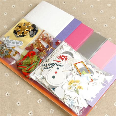 Handmade Sheet Greeting Cards - handmade cards handmade diy material package s day