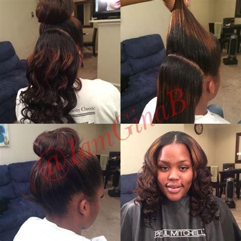 Half Sew In Weave Hairstyles by Half Vixen Sew In By Ginab Versatile Sew In Weave Hair