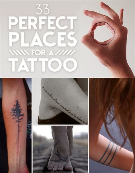 simple tattoo locations 33 perfect places for a tattoo the idea king