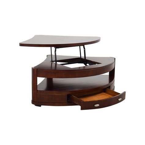 Lift Coffee Table Sale 90 Triangular Rounded Lift Top Coffee Table Tables