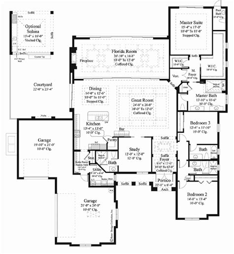 Slab Floor Plans by One Story House Plans On Slab Slab Grade Home