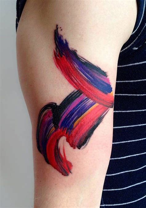 watercolor crayon tattoos 50 watercolor designs that totally tell a story of