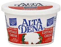 Alta Dena Cottage Cheese by Alta Dena Cottage Cheese Small Curd 4 Milkfat Min 8 0