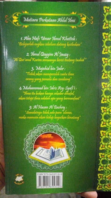 Buku Ori Tafsir Jalalain Jilid 1 Al Fatihah Al An Am Sinar Baru Ag buku tamhid iqro qiroaty cara cepat belajar al qur an