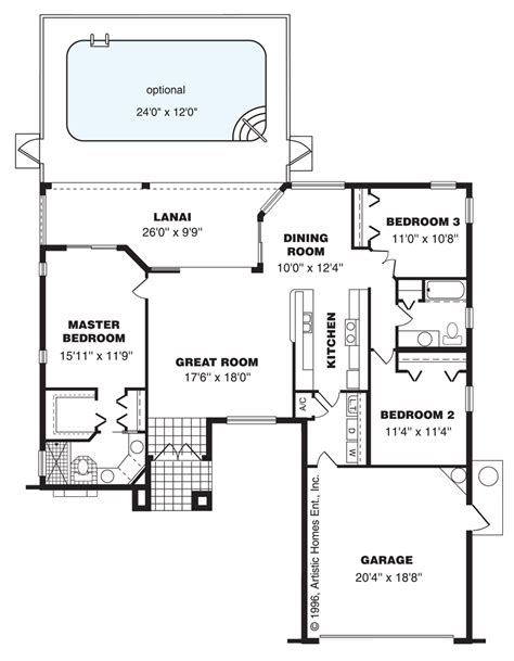 key west floor plan artistic homes classic series citrus pasco hernando