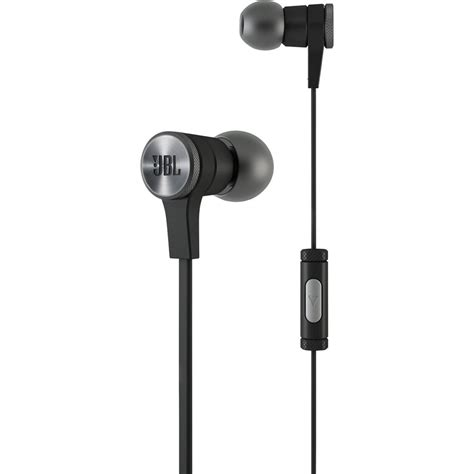 jbl synchros e10 in ear headphones black e10blknp b h photo
