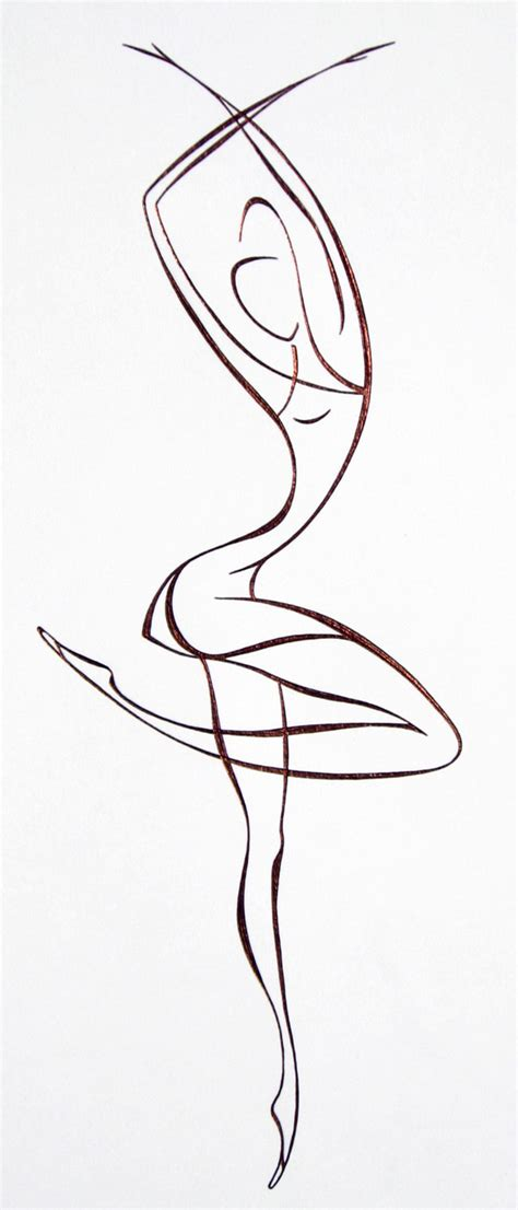 Ballet Line Drawing