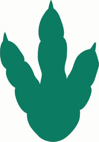 Dinosaur Paw Print Outline by 25 Best Ideas About Dinosaur Template On Dinosaur Crafts Dinosaurs And Dinosaur