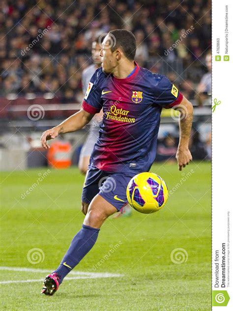 barcelona last match adriano correia editorial stock photo image 47628663