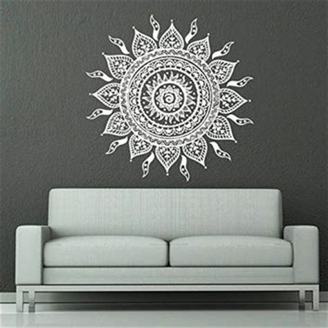 Wall Decals For Bedroom Indian Wall Decals Mandala Ornament Indian From Wall Decals