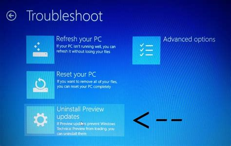 install windows 10 developer preview how to uninstall windows 10 technical preview