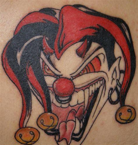 joker jester tattoo designs crazy joker clown tattoo design tattoos book 65 000