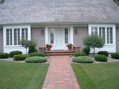 home landscape ideas front yard entryway curb appeal ideas for your home