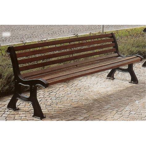 panchine parco panchina roma ghisa legno esotico giardini parchi piazze