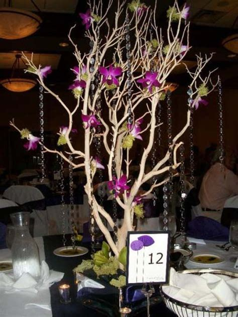 tree centerpieces for weddings diy wedding
