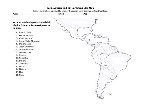 and south america map quiz best photos of america map blank template