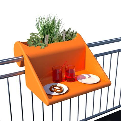 Balcony Railing Table by Balkonzept Design Balkontisch F 252 R Das Gel 228 Nder Balcony