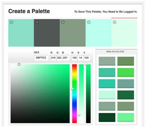 online color palette maker 40 useful online generators for web designers noupe