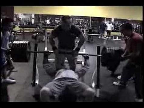 the big show bench press larry mcgill 725 bench press raw youtube