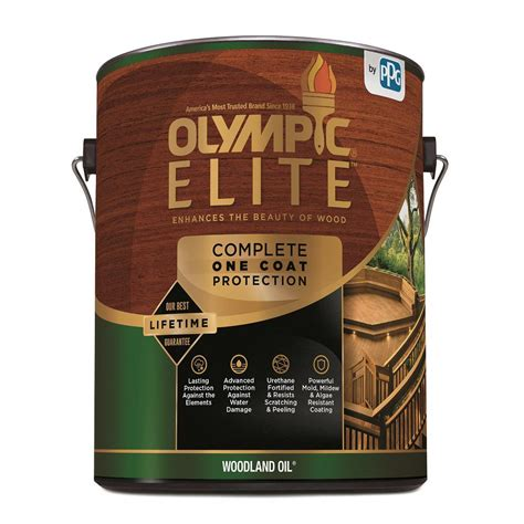 olympic elite  gal red cedar woodland oil advanced