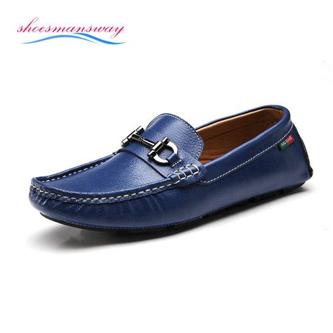 shoes for flat for fashion new genuine leather mocassin casual flat shoes for