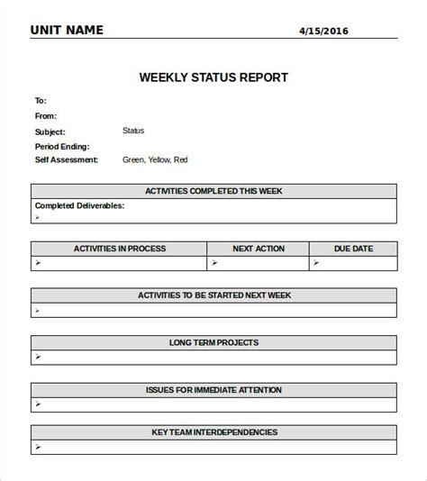 daily status report template word oyle kalakaari co