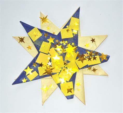sternenhimmel basteln kinder malen und basteln 187 weihnachtssterne zum aufkleben