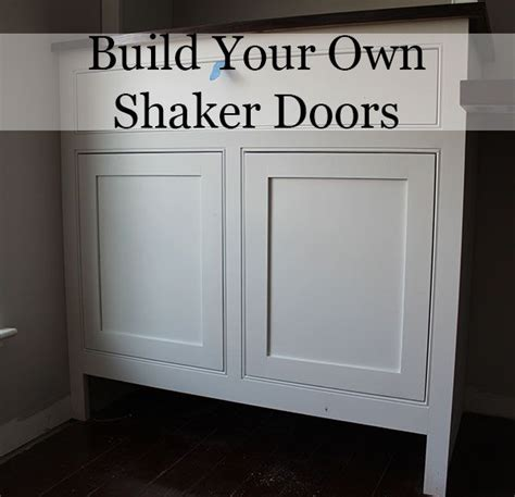 diy shaker cabinet doors how to build shaker cabinet doors with a router diy