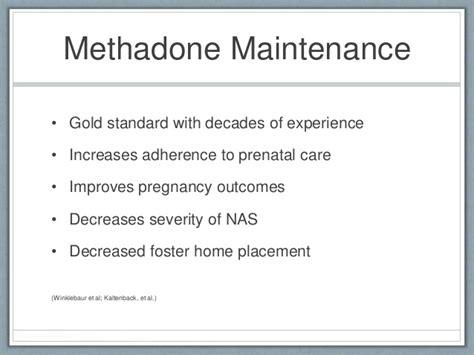 30 Day Methadone Detox In Southern Md detoxification vs maintenance treatment in pregnancy