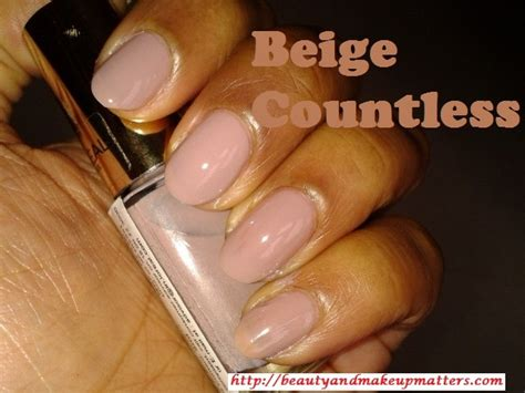 l oreal color riche nail enamel beige countless 104 review notd indian fashion