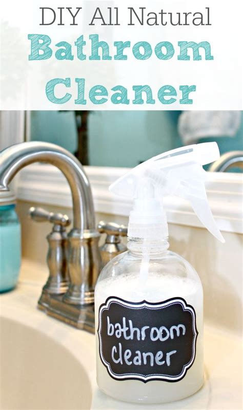 natural cleaners for bathroom homemade bathroom cleaner all natural homemade orange
