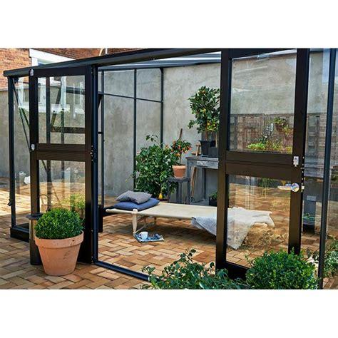 serre e verande serre de jardin juliana veranda 6 6 m 178 verre tremp 233