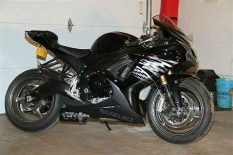 Suzuki 2011 For Sale 2011 Suzuki Gsx R 750 Black Motorcycle Classifieds