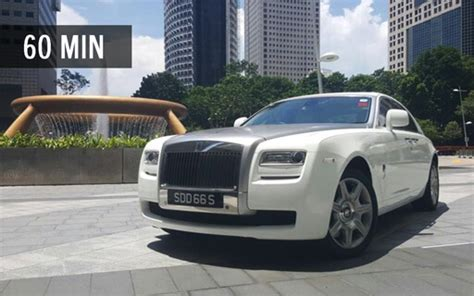 roll royce singapore rolls royce ghost 60 min singapore explorer drive